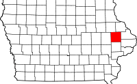 Jones County in Iowa