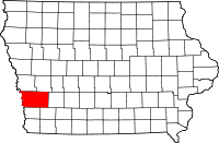 Pottawattamie County in Iowa