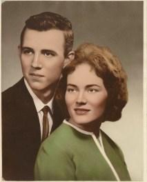 Ray and Leota Camp, 1963