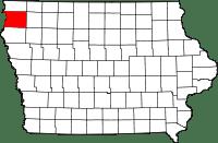 Sioux County in Iowa