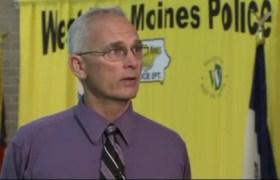 Lt. Jeff Miller of the West Des Moines Police Dept.