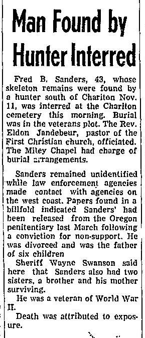 Courtesy The Chariton Herald-Patriot, Dec. 1, 1966