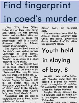 Courtesy the Daily Reporter, Nov. 14, 1973