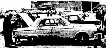 Lillian Randolph's car