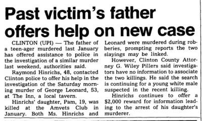 Courtesy The Cedar Rapids Gazette, Dec. 1, 1981