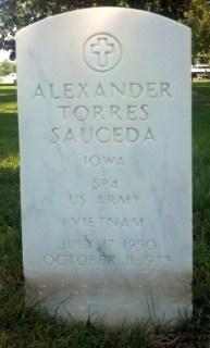 Alexander Sauceda gravestone
