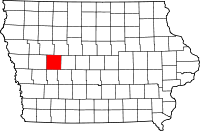 Carroll County in Iowa