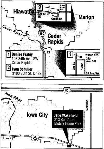 Cedar Rapids Gazette article