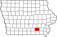 Wapello County in Iowa