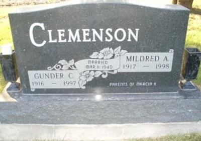 mildred-clemenson-gravestone
