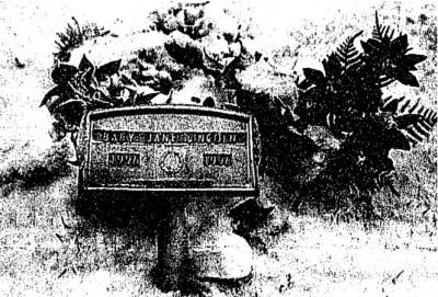 Baby Jane Doe Lincoln's gravesite