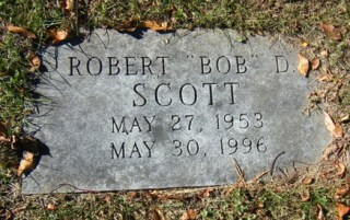 Robert Scott headstone