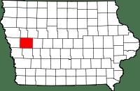 Crawford County in Iowa