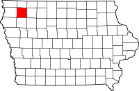 O'Brien County map