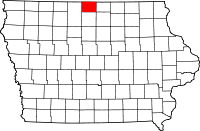 Winnebago County in Iowa