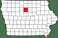 Wright County in Iowa