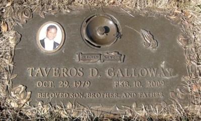 Taveros Galloway tombstone