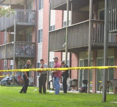 Dominique Mosby crime scene