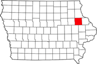 Delaware County in Iowa