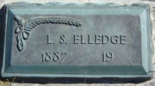 Lyman Elledge gravestone