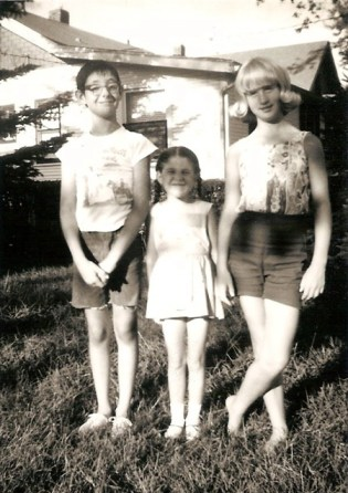 Billy and Patricia Veach and Linda Long in 1968