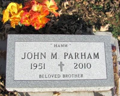 john-parham-gravestone