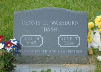 Dennis Washburn gravestone