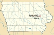 Toddville in Linn County