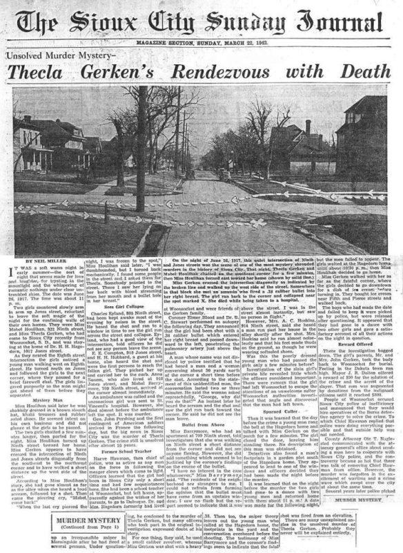 Thecla Gerken article