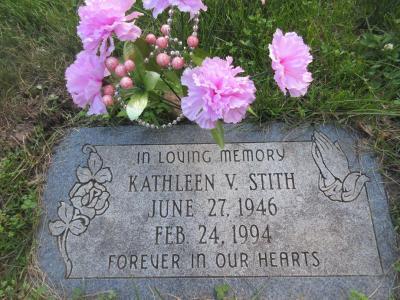 Kathleen Stith gravestone