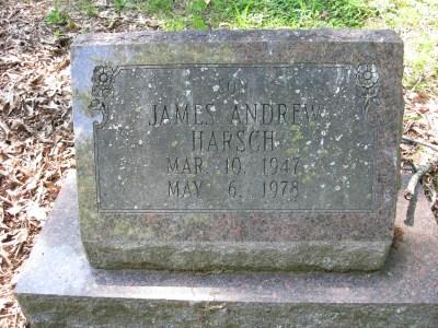 James Harsch gravestone