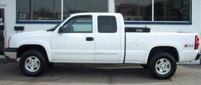 Michael Delaney's truck