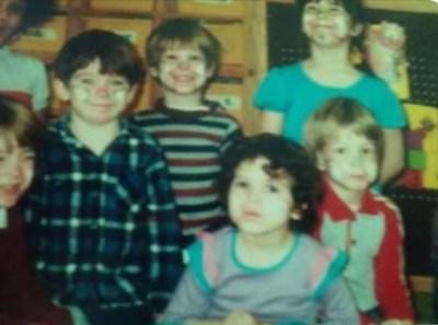 Douglas Shondel with cousins