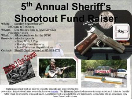 A fundraiser for local veterans and families in need.