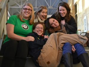 The 2012-2013 AmeriCorps and FoodCorps Members, minus Erika.  Unfortunately I couldn't find a picture of all of us!