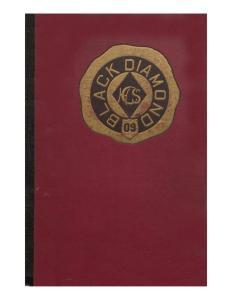 1909 Black Diamond Yearbook