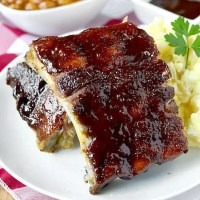 Easy Baked Ribs (Video)