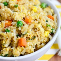 Cauliflower Fried Rice (Video)