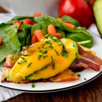 5 Ingredient BBQ, Avocado, Bacon and Cheddar Chicken