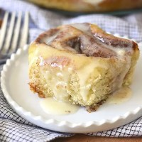 Gluten-Free Cinnamon Rolls (DF Friendly)