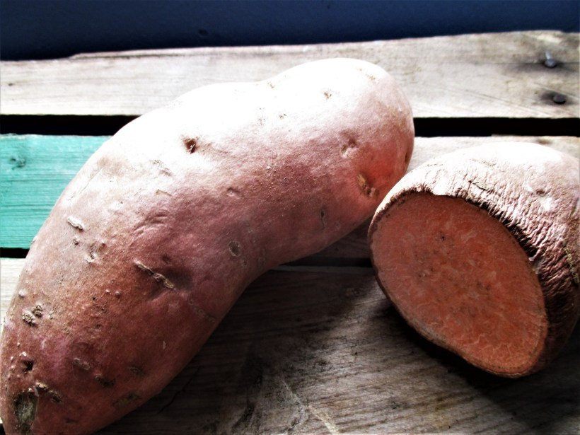 Sweet Potato Closeup | Iowa Herbalist