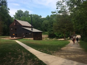 Pine Creek Grist Mill at Wildcat Den State Park, near Muscatine, Iowa. The Iowa Legislature cut $1.2 million from the Department of Natural Resources fiscal 2017 budget in a money-saving move. Volunteers with Friends of the Pine Creek Grist Mill have supported this historic site, in conjunction with the state, since 1996. Photo: Lyle Muller/IowaWatch
