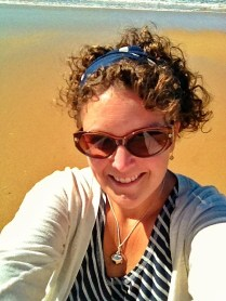 Sunny day at the beach - finally!