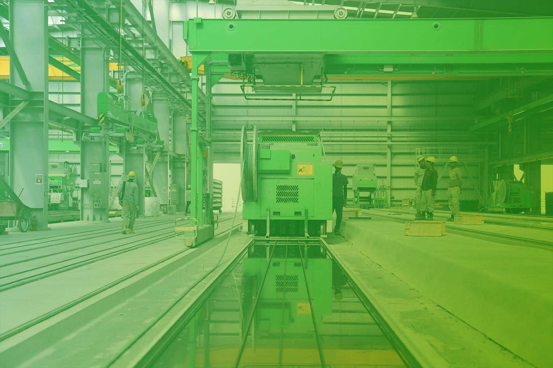 Zum Beitrag Elektronisches Typenschild mit RFID: Industriehalle