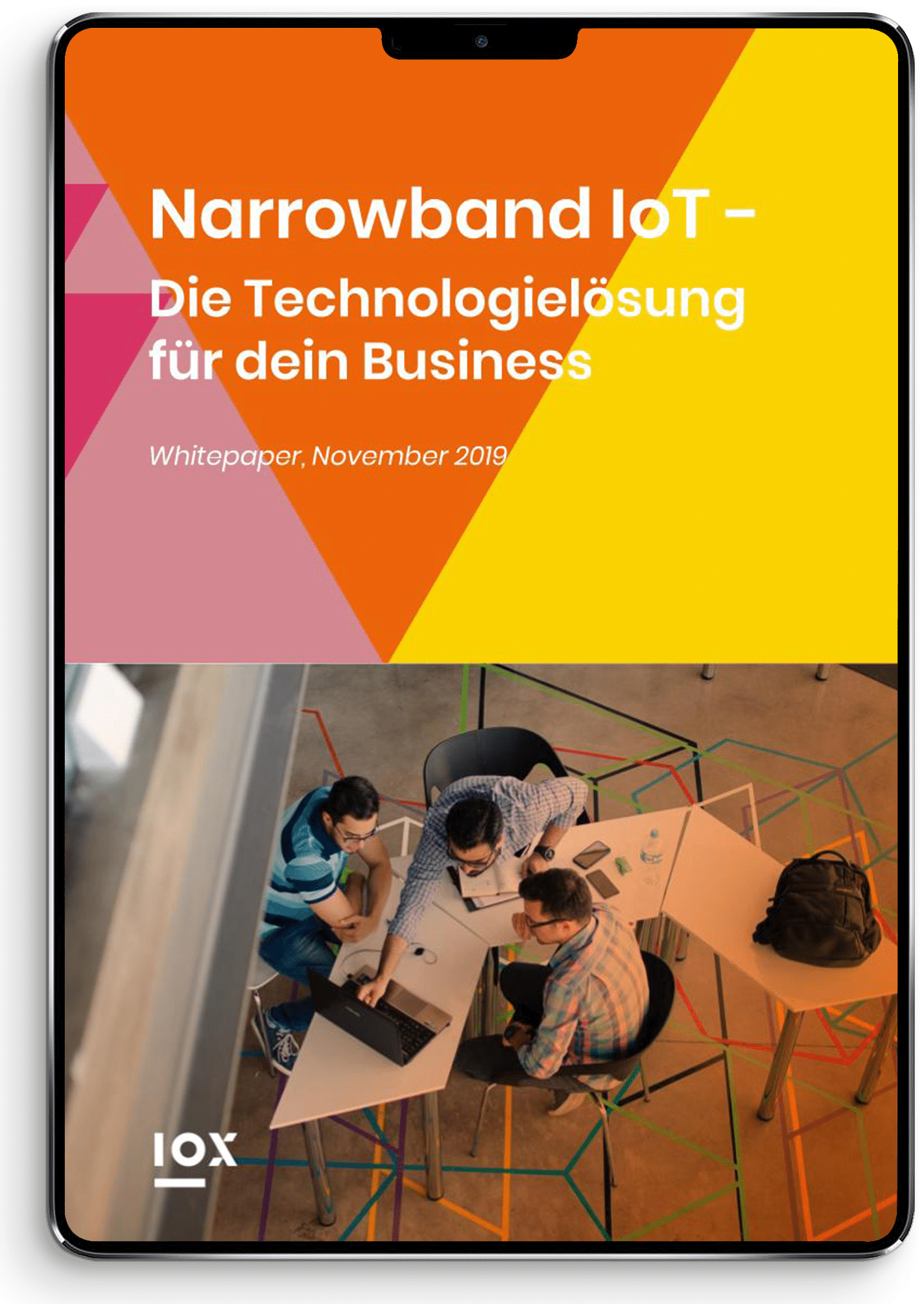 Whitepaper Narrowband IoT - iPad