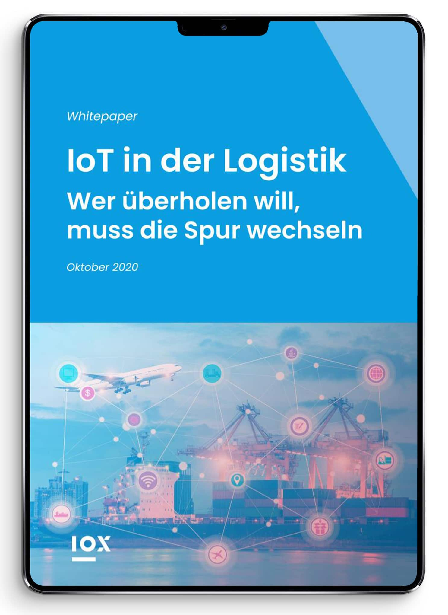 IoT in der Logistik - iPad