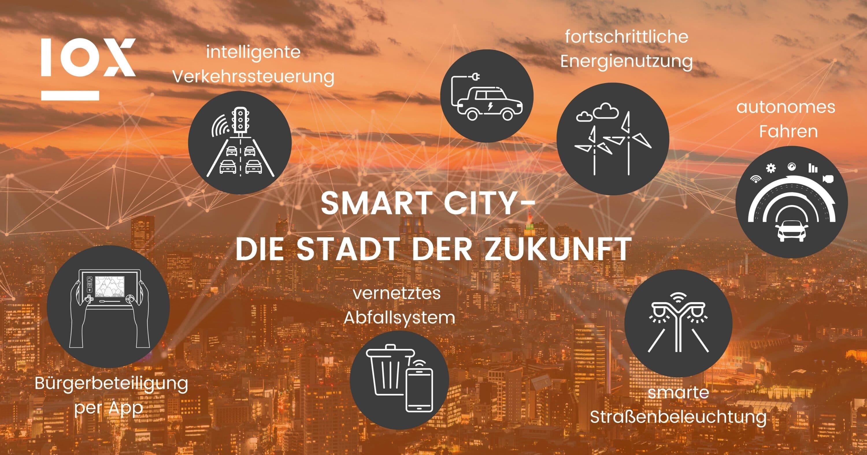 Smart City - die Stadt der Zukunft: IOX Infografik