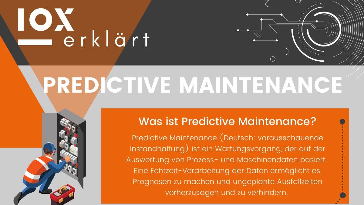 Predictive Maintenance Infografik Beitragsbild