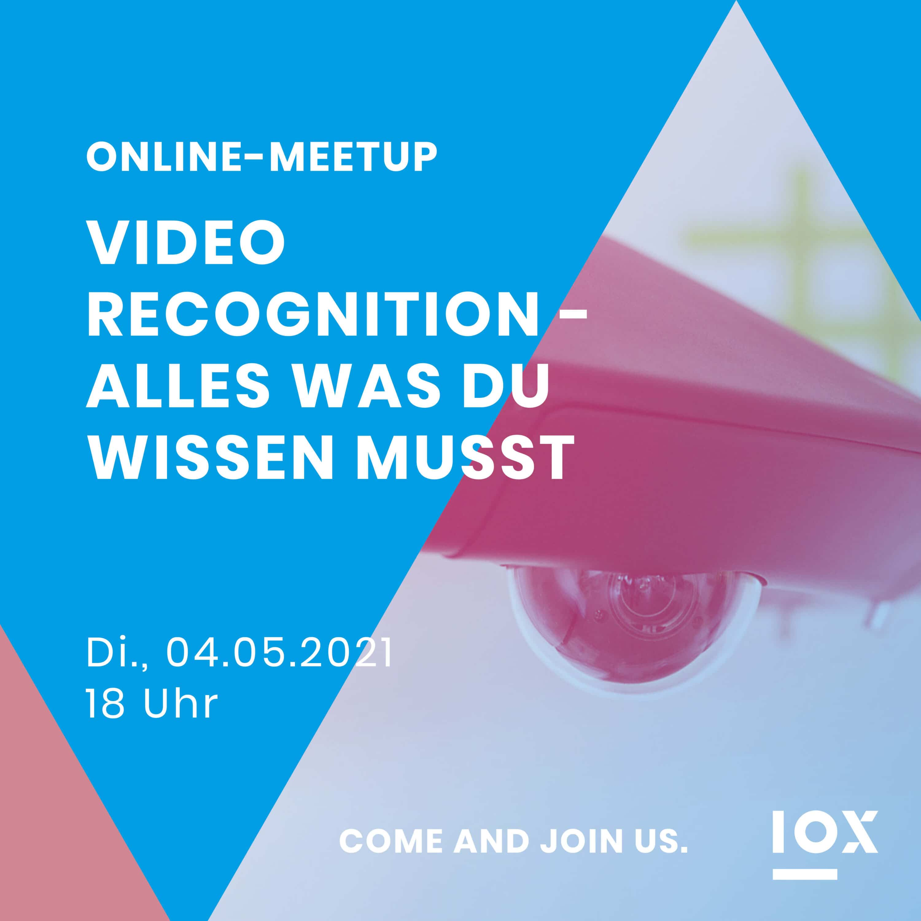 2021-04-30 IOX Event Meetup Video Recognition Insta 1