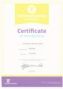 Constructionline Gold Membership IP Networks